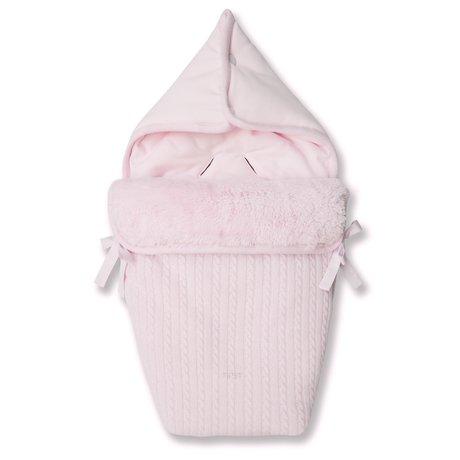 First NOA gebreid babynestje wol & cashmere