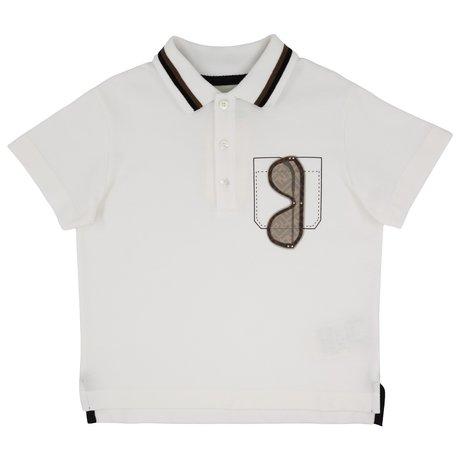 Fendi Polo shirt with 3D print