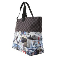 Shopper Money Rolled Tote