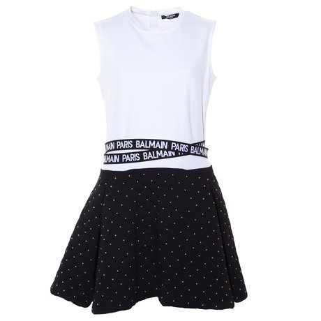 Balmain Dress with logoband