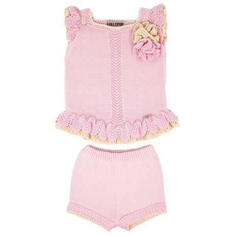 Lolly Pop by Sascha Top and shorts