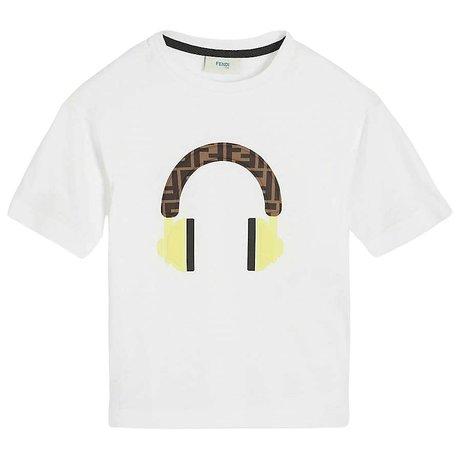 Fendi T-shirt with 3D print