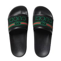 Gucci Slippers met logo