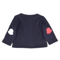 Moncler Fleece vest met logo