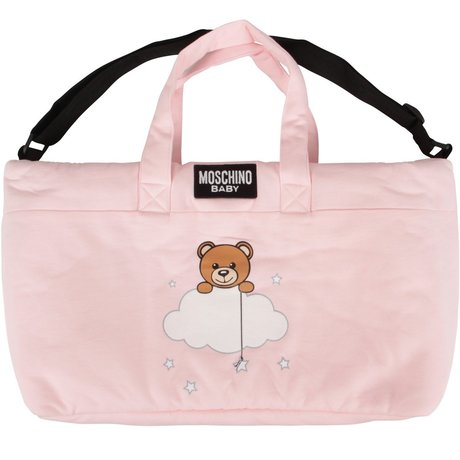 Moschino Changing bag with changing mat