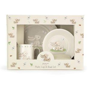 Bunny bord, mok & kom set