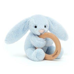 Bashful Bunny Wooden Toy