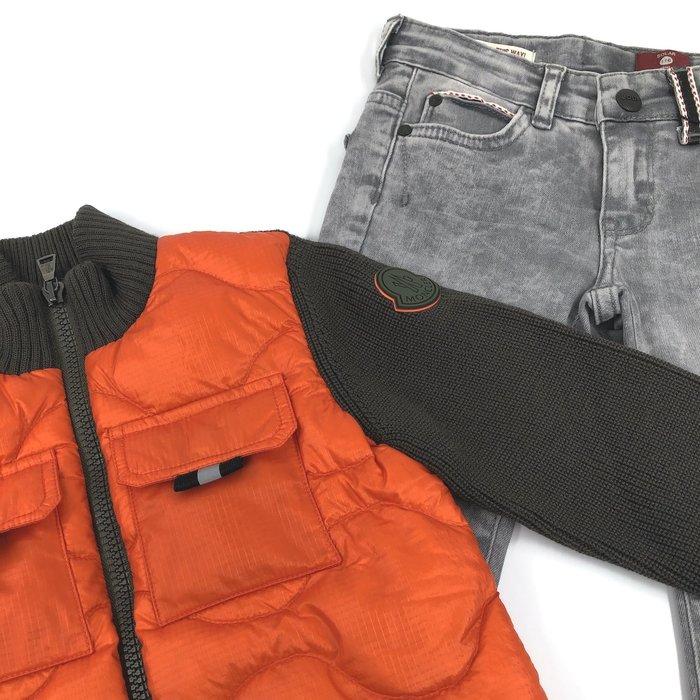 Moncler vest en jeans