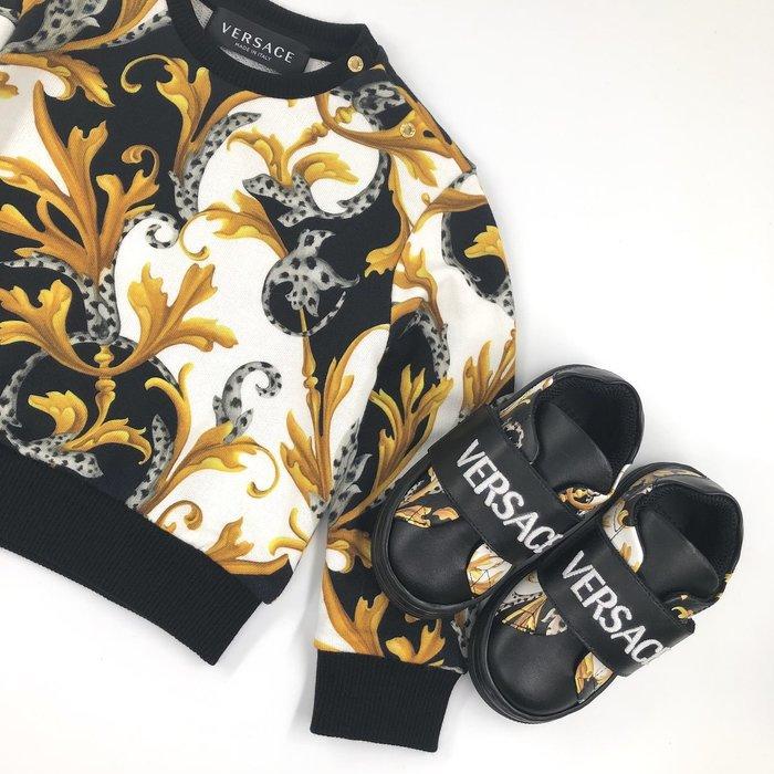 Versace sweater sneakers