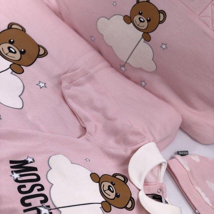 Moschino baby roze