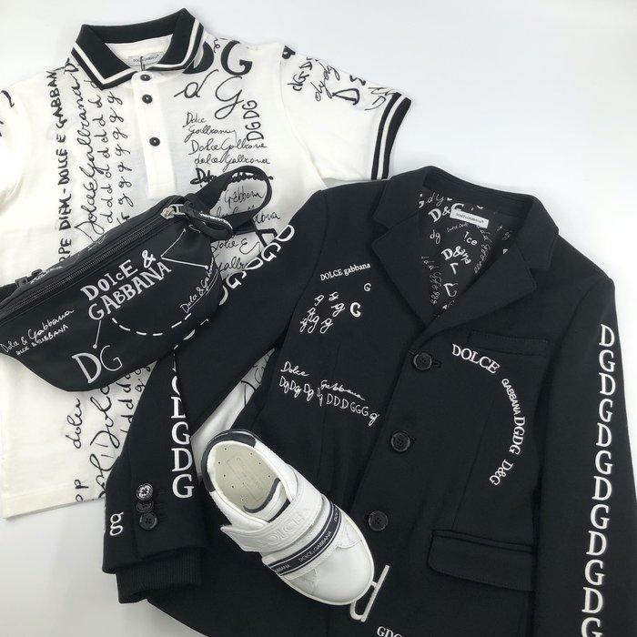 Dolce & Gabbana polo shirt and blazer