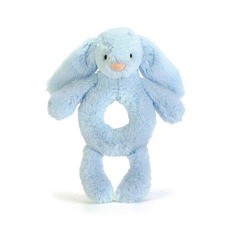 Jellycat Bashful Blue Bunny Rammelaar