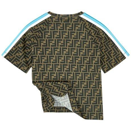 Fendi T-shirt FF all-over