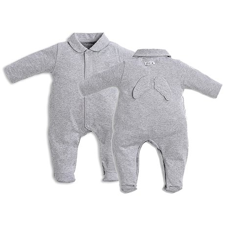 Baby suit with wings