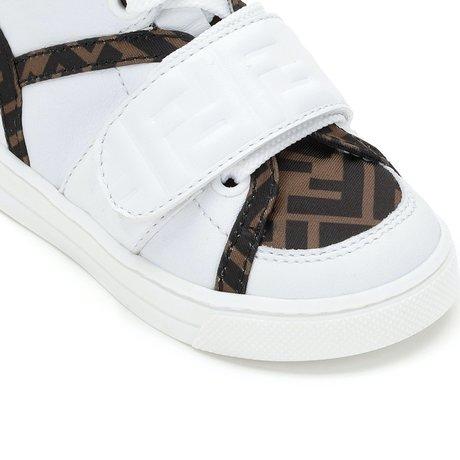 Fendi Sneakers halfhoog FF logo