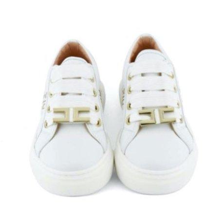 Elisabetta Franchi Sneakers met logo band