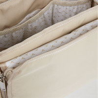 Changing bag with changing mat beige