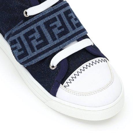 Sneakers hi top FF logo