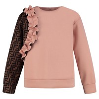 Sweater FF all-over sleeve