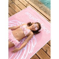 Beach towel with logo