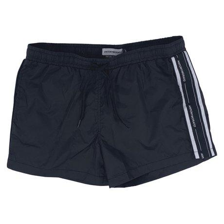Swim shorts with logoband