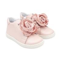 Sneakers met bloem