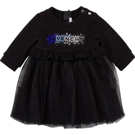 Dress with rhinestones