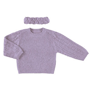 Jumper with hair band