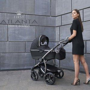 Atlanta kinderwagen Black Edition