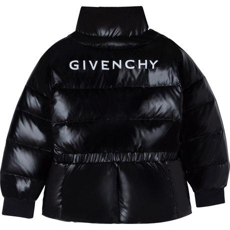 Winter jacket with logo