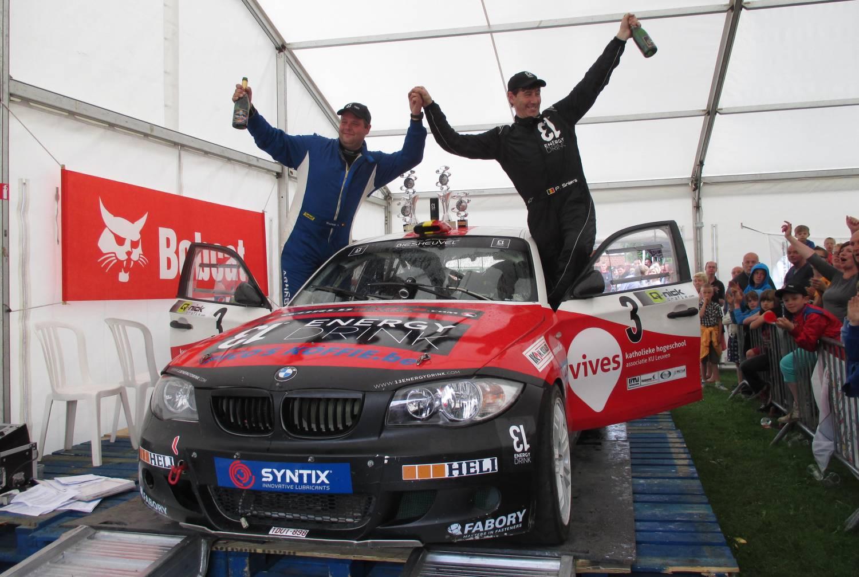 Ook succes in de rallysport
