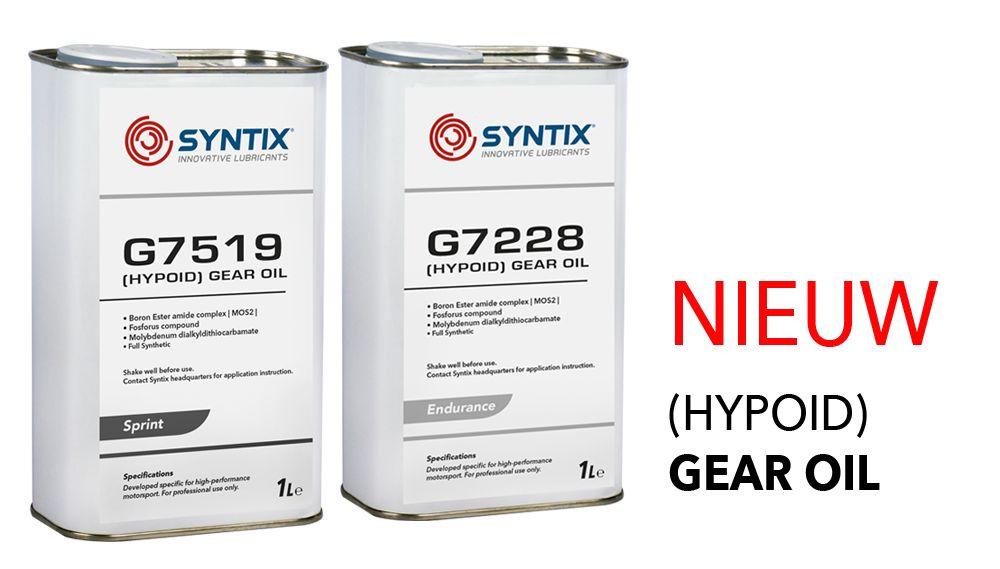 Syntix introduceert een evolutie in Gear oil