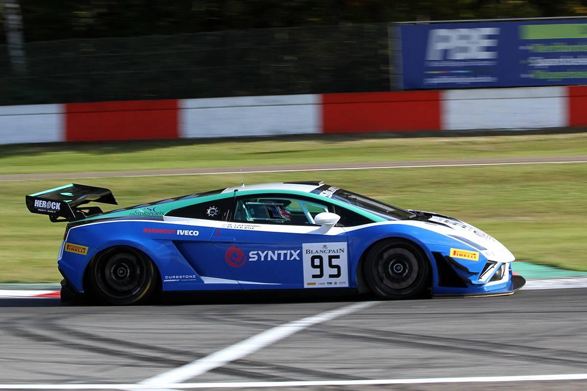 NSC Motorsports schittert in Blancpain Sprint Series