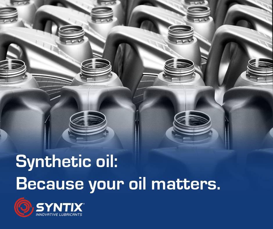 Ook jouw olie is belangrijk - synthetische olie