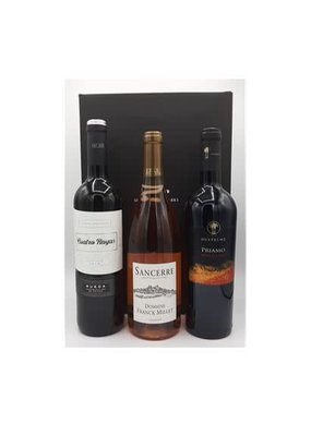 Geschenkdoos Wijn - Frans, Spaans, Italiaans