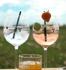 Verhofstede Glas Gin op voet