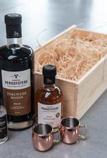 Geschenkkist Edelweiss Noten , Hop, Kriek & Gin & mini-mules