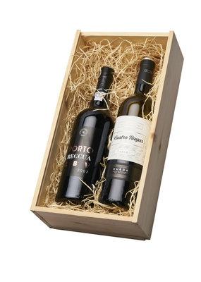 Geschenkkist Porto & Sauvignon