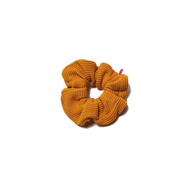 Waaaw Scrunchie yellow rib
