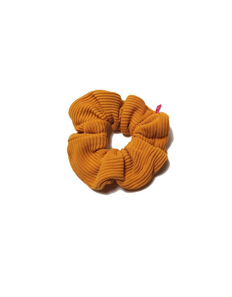 Waaaw Scrunchie yellow rib