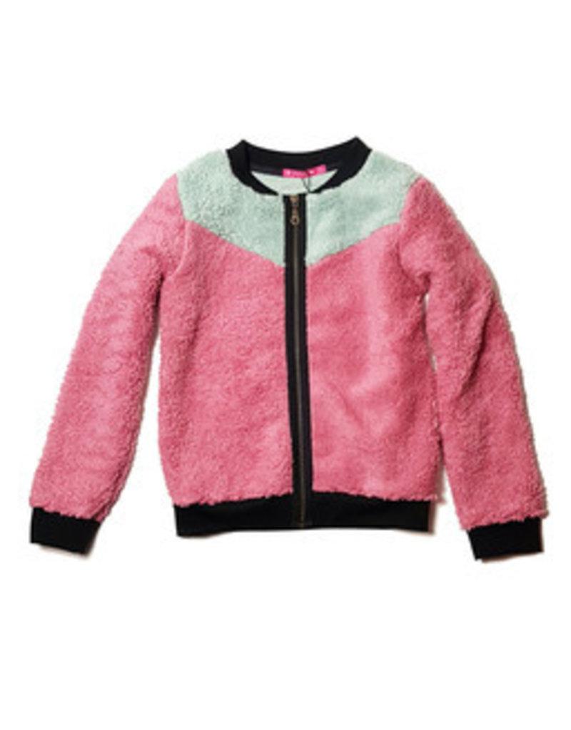 Waaaw Vest Teddy old pink
