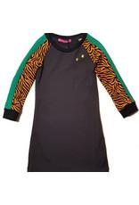 Waaaw Dress Wild Grey maat 110/116