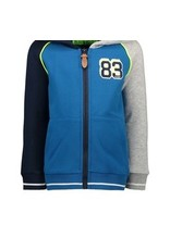 B-nosy Boys cardigan with contrast piping