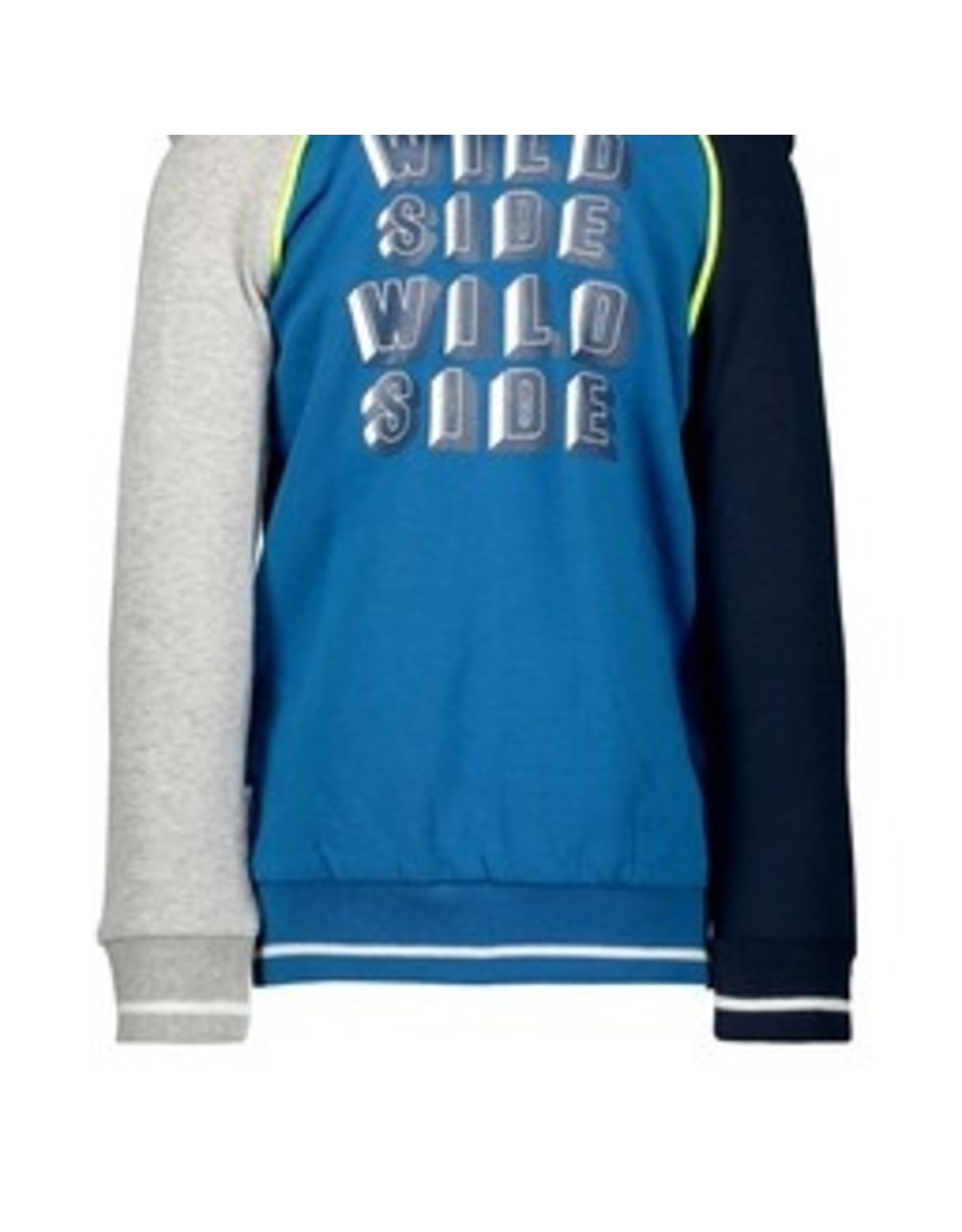 B.Nosy Boys cardigan with contrast piping