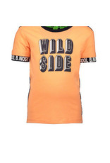 B-nosy Boys ss. Shirt with YD stripe back panel