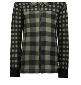 B-nosy Boys jersey AO printed check blouse
