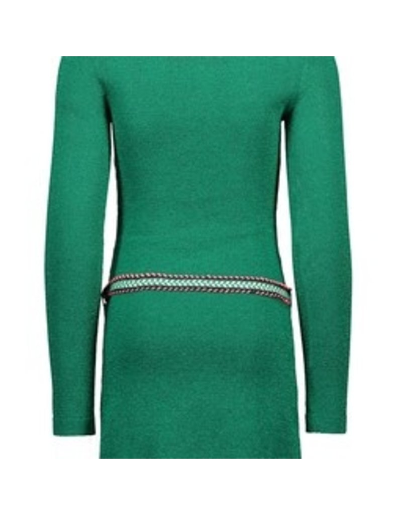 B-nosy Girls knitted dress with belt