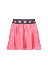 B-nosy Girls velvet skirt with star elastic