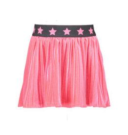 B-nosy Girls velvet skirt with star elastic