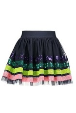 B-nosy Girls sequinces stripe skirt